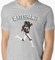 #ATLSHAWTY - Deion Sanders T-shirt Men's V-Neck T-Shirt