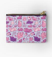 Meerschweinchen-Huddle In Lavender Täschchen
