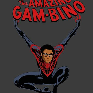 The Amazing Childish Gambino  by ridiculouis
