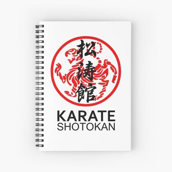 Shotokan Karate Symbol And Kanji Spiral Notebook