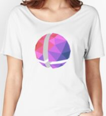Low-Poly Smash Ball Women's Relaxed Fit T-Shirt