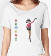 HUMANZ! Noodle, Gorillaz! Women's Relaxed Fit T-Shirt