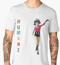 HUMANZ! Noodle, Gorillaz! Men's Premium T-Shirt