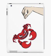 Brave crab... iPad Case/Skin