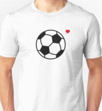 Soccer Love (Football Love) Unisex T-Shirt