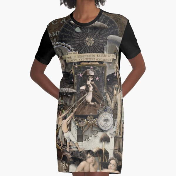 For the Purpose  Graphic T-Shirt Dress