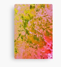 Watercolor Splashes On Paper 3 Canvas Print