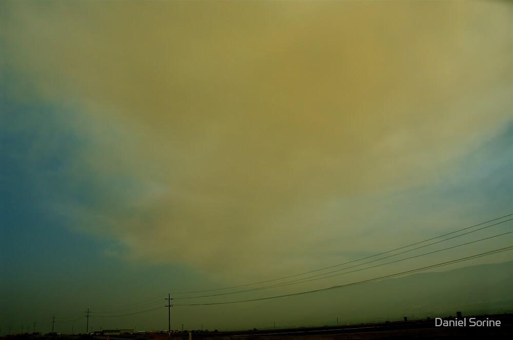 California wildfires by Daniel Sorine