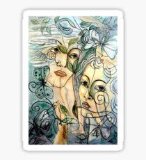 FRANCIS PICABIA : Vintage Lotruli Athenium Painting Print Sticker