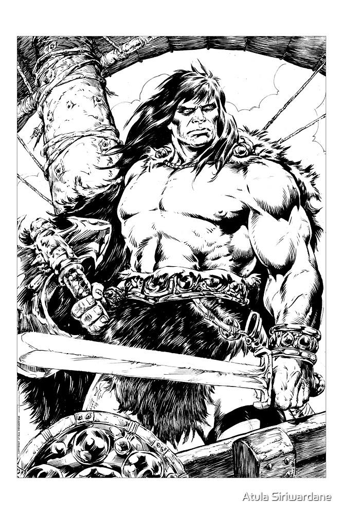 Conan the Pirate by Atula Siriwardane