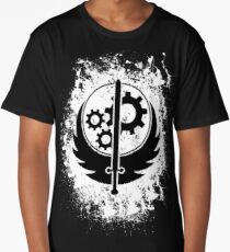 Brother hood of steel T-shirt - Inverted Long T-Shirt