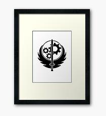 Brother hood of steel T-shirt - Inverted Framed Print