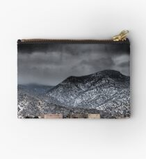 Albuquerque—High Desert Snowy Day Studio Pouch