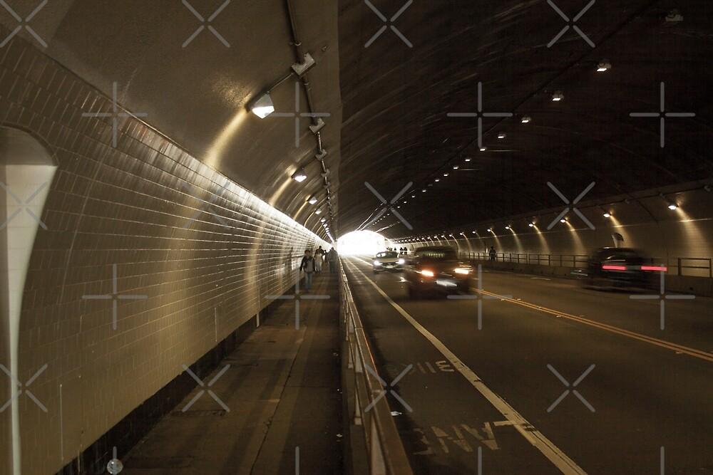 Stockton St. Tunnel - San Francisco California by Buckwhite