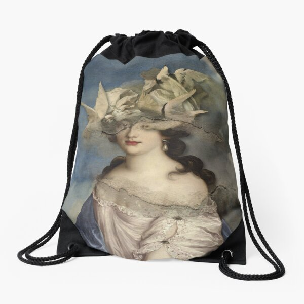 BirdHead Woman Drawstring Bag