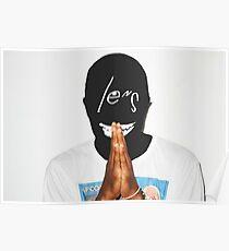 frank ocean - lens Poster