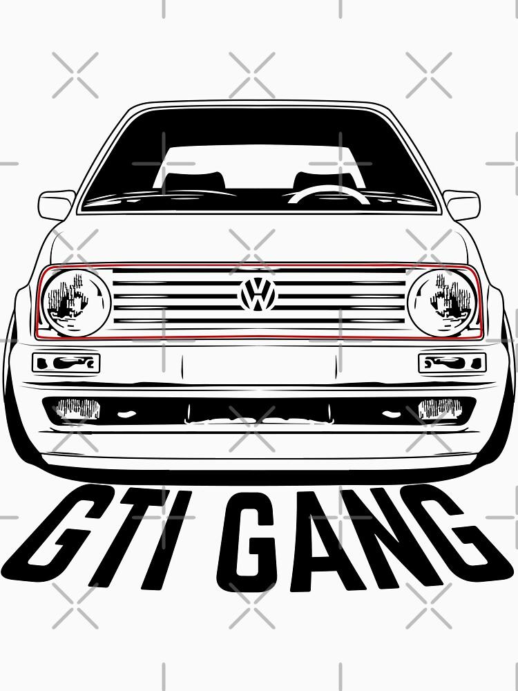 VW Golf GTI Mk2 Shirts by CarWorld