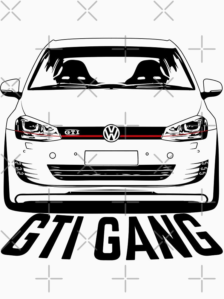 VW Golf GTI Mk7 Shirts by CarWorld