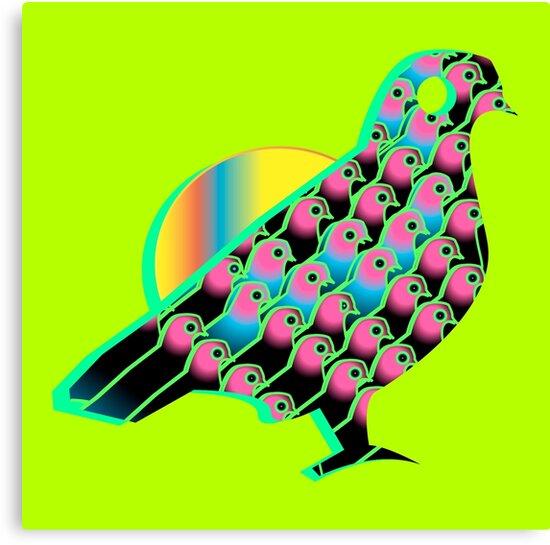 Birdie by BarbarianBarBar