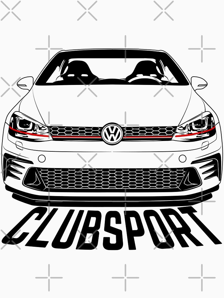 VW Golf GTI Mk7 Clubsport Gang Shirts by CarWorld