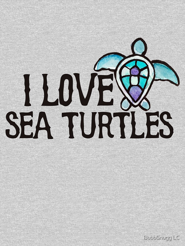 I love sea turtles by Boogiemonst