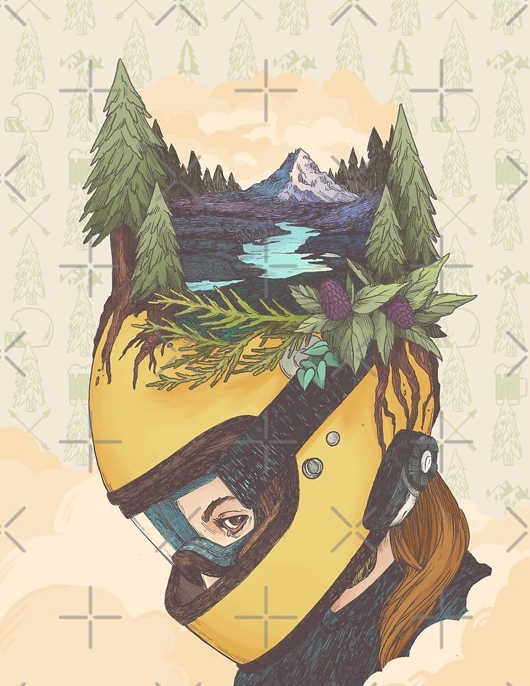 Backwoods Breakout- Women Who Ride by Amanda Zito