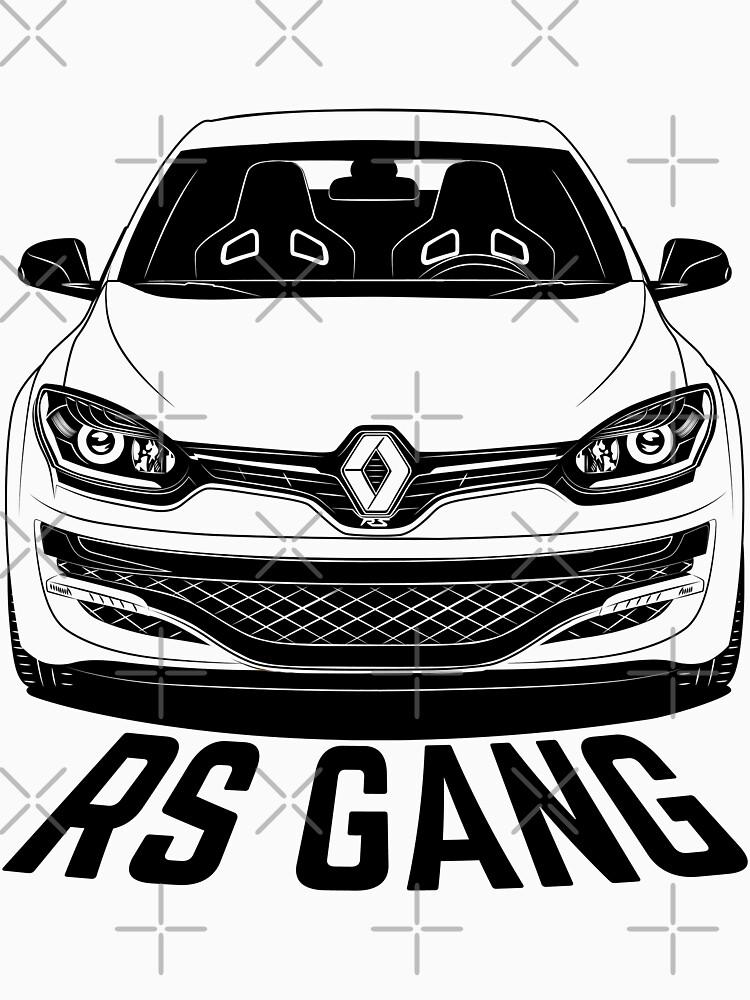 Renault Megane RS Facelift Shirts by CarWorld