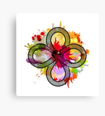 Ouroboros devouring its own tail Canvas Print