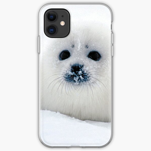 Ice puppy iPhone Soft Case