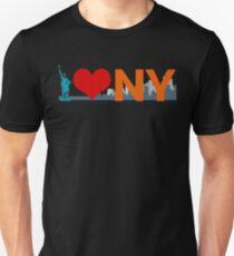I Love New York I Heart NY Statue of Liberty T-Shirt