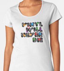 Vinyl will never die Women's Premium T-Shirt
