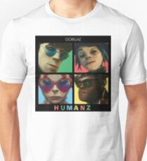 HUMANZ- GORILLAZ T-Shirt