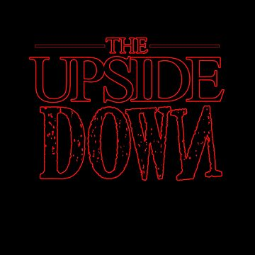 STRANGER THINGS - THE UPSIDE DOWN RETRO EIGHTIES HORROR T SHIRT by prezziefactory