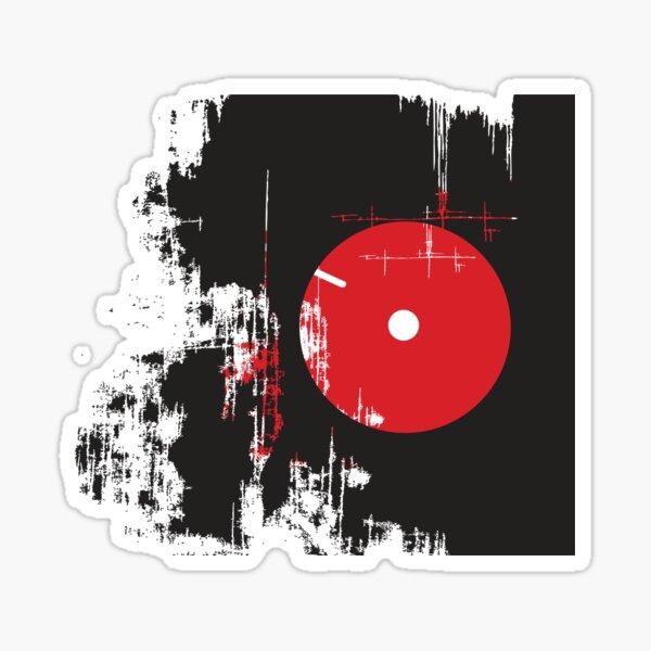 Faded Vinyl Sticker