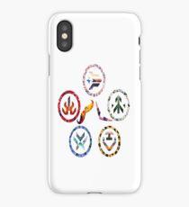 Voltron team symbols iPhone Case/Skin