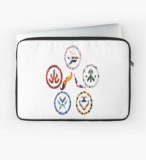 Voltron team symbols Laptop Sleeve