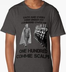 One Hundred Commie Scalps Long T-Shirt