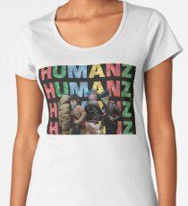 HUMANZ GORILLAZ Women's Premium T-Shirt