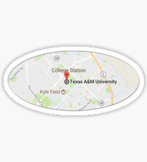 Texas ATM University - Google Pin Sticker