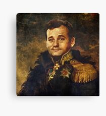 Satirical Portrait - Bill Murray  Canvas Print