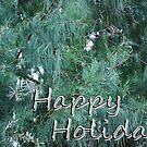Happy Holidays Greenery by HeavenOnEarth