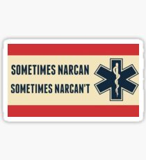 Narcan Sticker