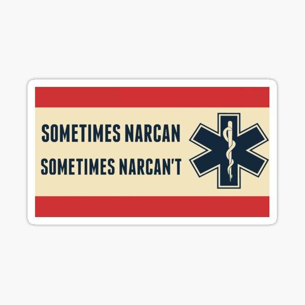 Narcan Sticker