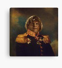 satirical portrait - Chris Farley  Canvas Print