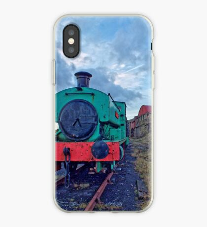 Steam Tender at Welsh Coal Mine, Wales / UK iPhone Case