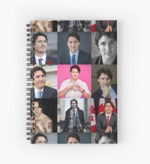 Justin Trudeau Spiral Notebook