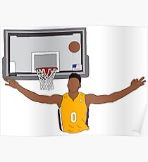 Nick Young Early Celebration Poster