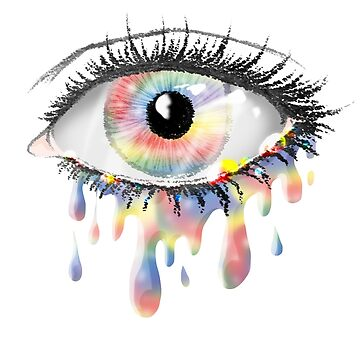 Rainbow Tears by scarlet-neko
