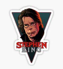 Pegatina Stephen King