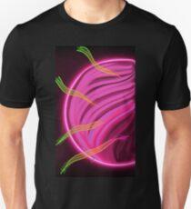 Neon Solar Eclipse  T-Shirt